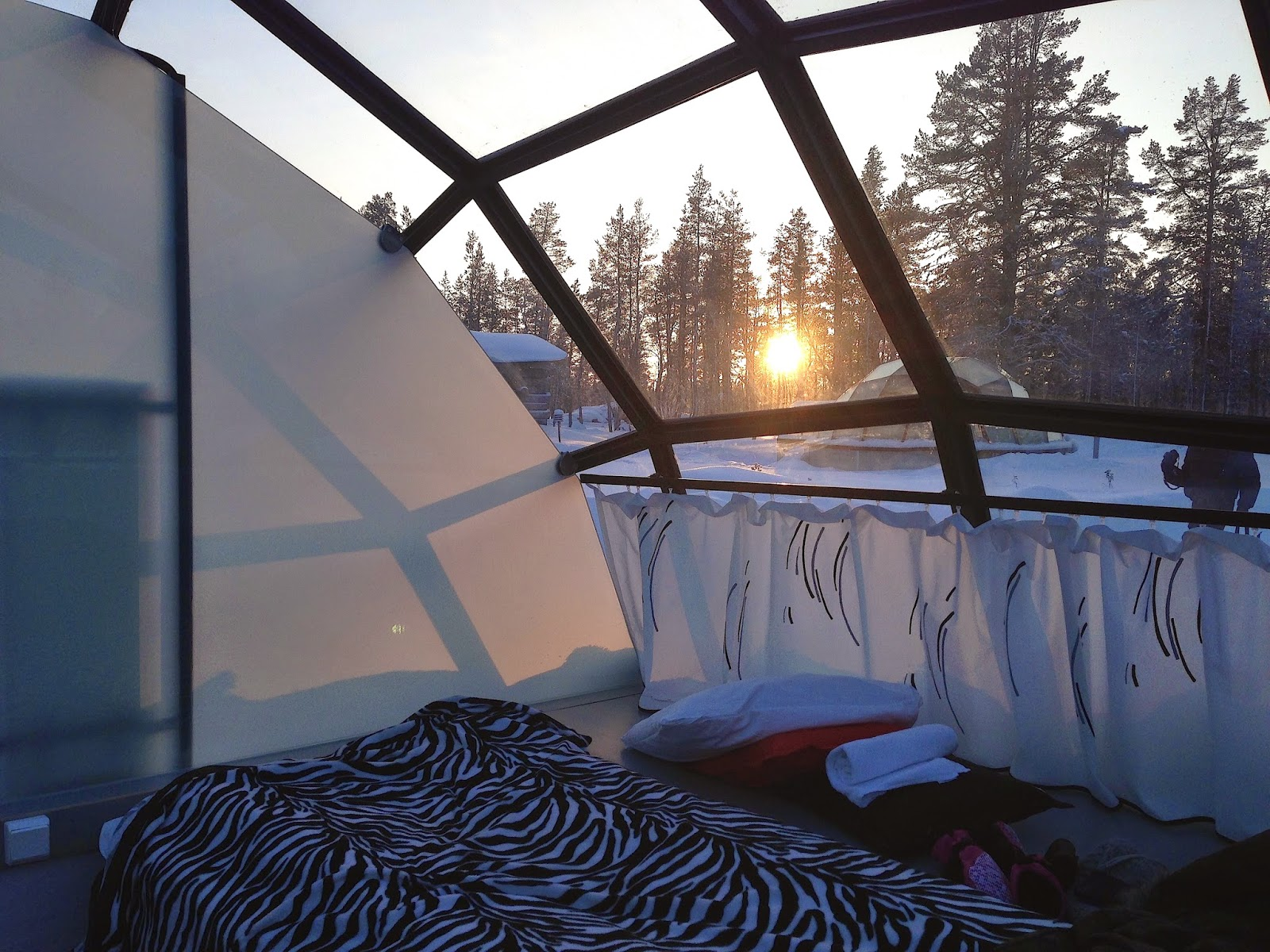 Glass Igloo, Kakslauttanen, Finland