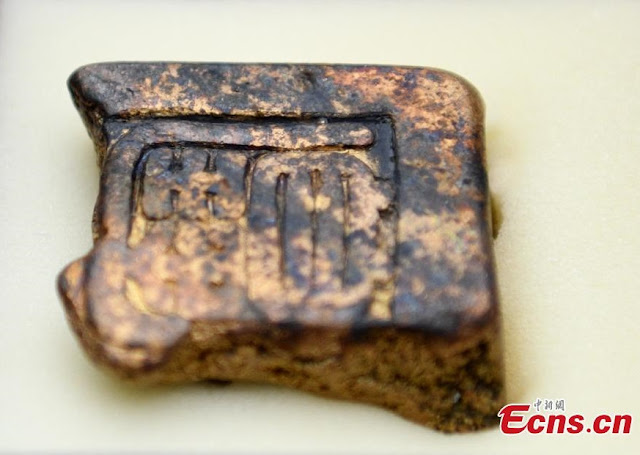 Gold and silver ingots among treasure excavated in Sichuan river