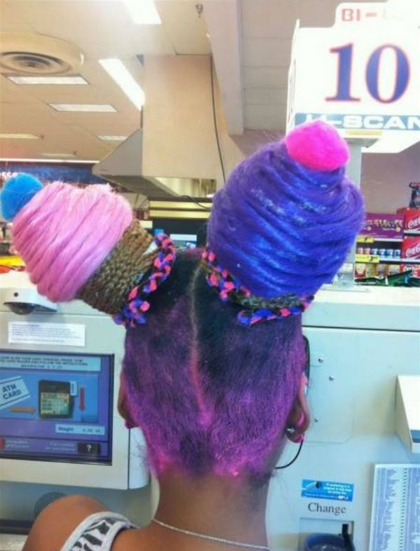 Girl With Cupcakes hair Style