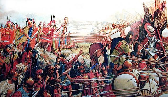 Το τέλος της αρχαίας Ελλάδας. Η παρακμή των εμφυλίων που έφερε την πτώση