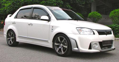 Licence To Speed For Malaysian Automotive Proton Saga Fl R3 Custom Bodykit