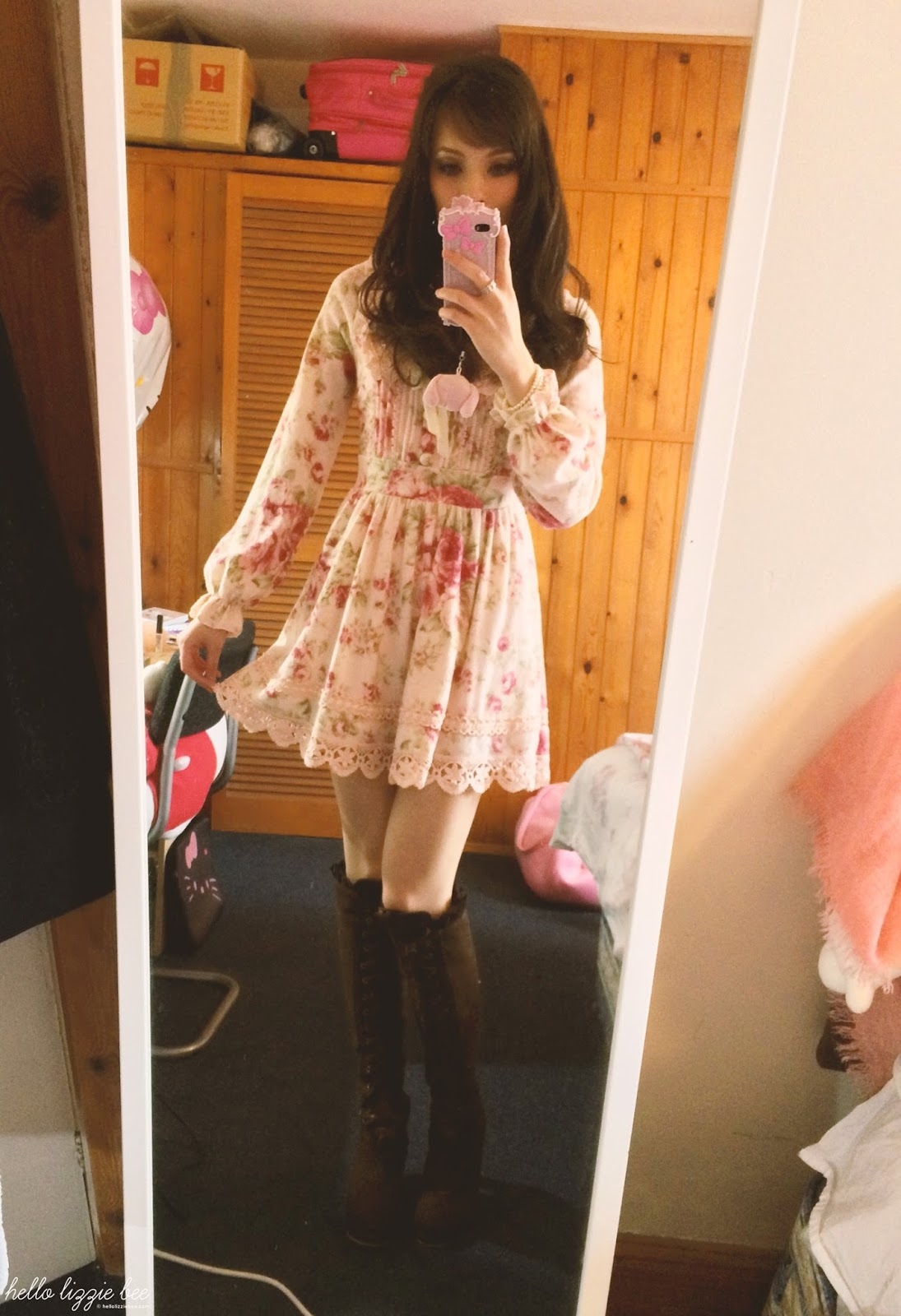 kawaii gyaru winter outfit