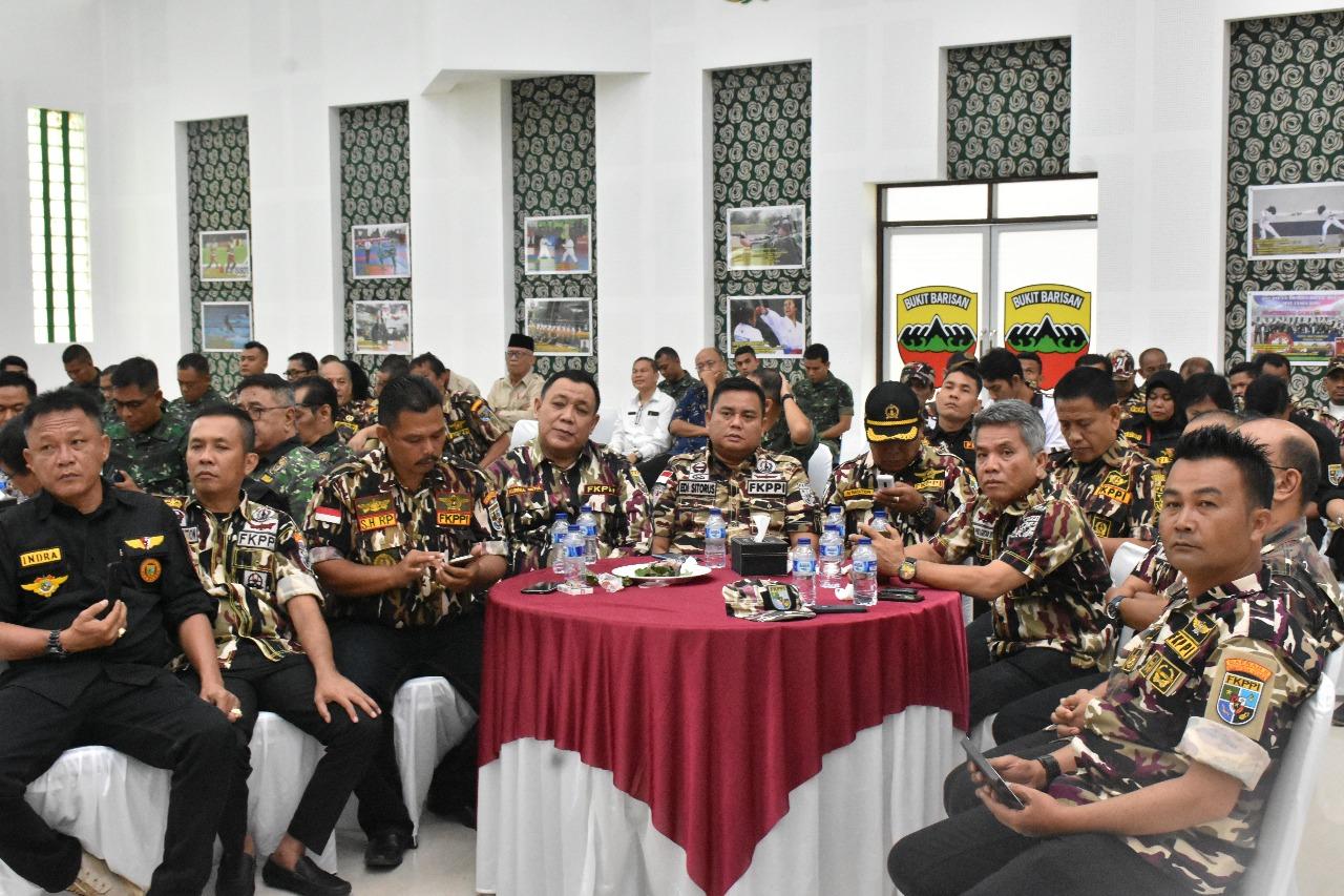 Kodam I/BB Komunikasi Sosial dengan Keluarga Besar TNI