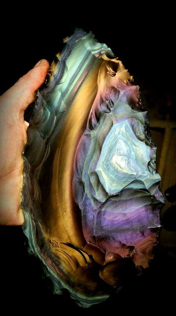 California Rainbow Obsidian