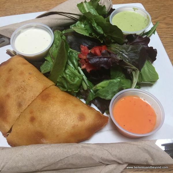 pabellon empanada at Coupa Cafe in Palo Alto, California