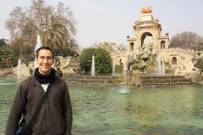 Fountain in Ciutadella Park