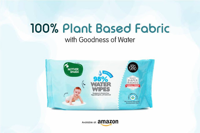 Plant Based Fabric Water Wipes