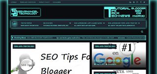 Templates Blogger Sci-fi SEO Friendly,Responsive,Fast Loading