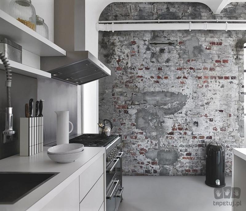 small world of design inspiracje tapeta w kuchni