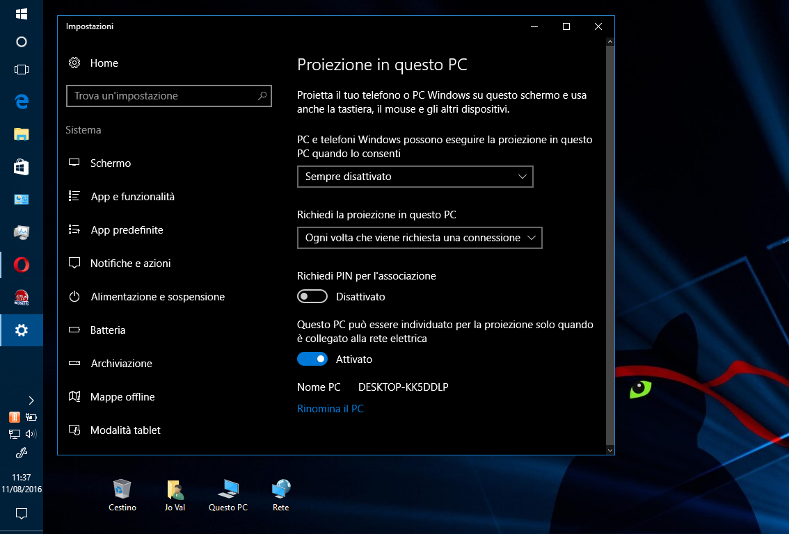 Come controllare un PC/Smartphone Windows 10 da un altro PC/Monitor HTNovo