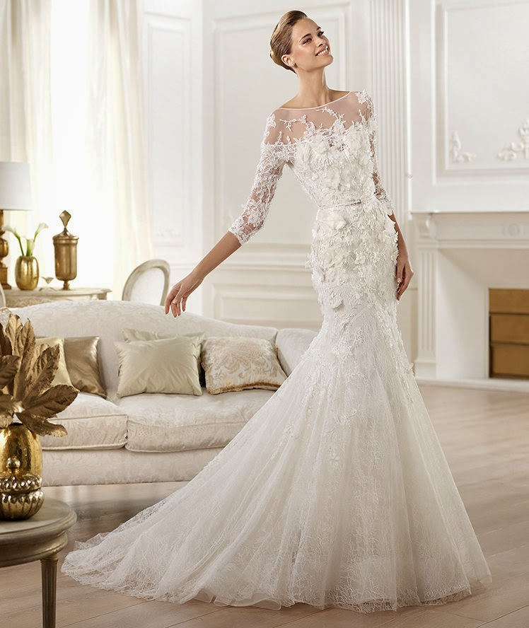 Latest Wedding Gowns 2014: Passion For Luxury : Elie Saab