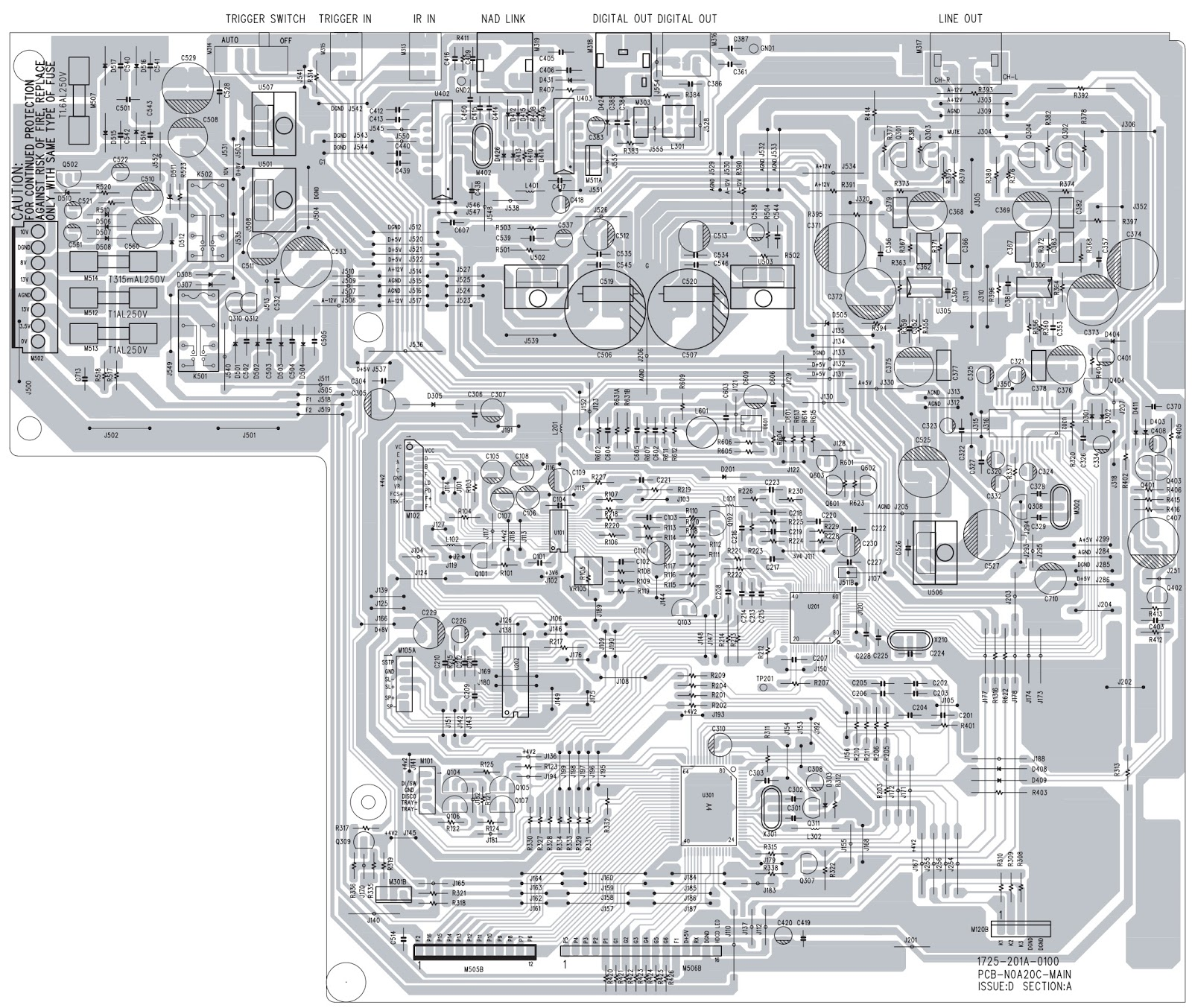 Schematic Diagrams  Nad C 541i Compact Disc Player