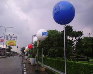 Menjual balon lighting dengan harga ekonomis