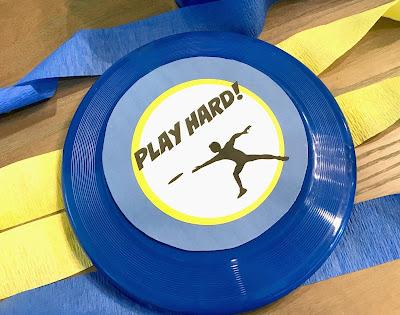 Ultimate Frisbee Printables @michellepaigeblogs.com