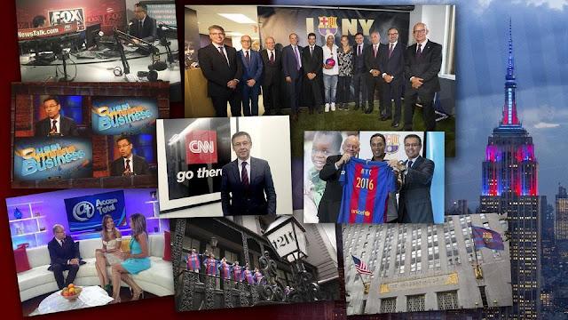 La estrategia del Barça en Nueva York dispara su marca