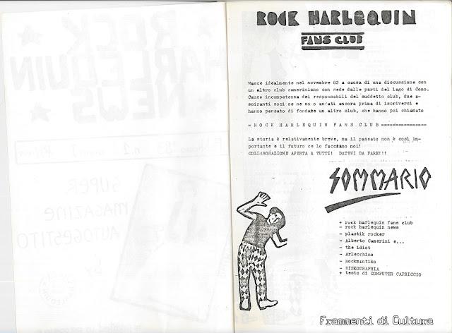 Alberto Camerini Fanzine