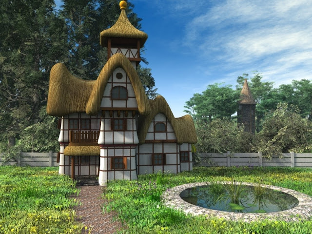 Amazing and Beautiful Fairy Tale Cottages