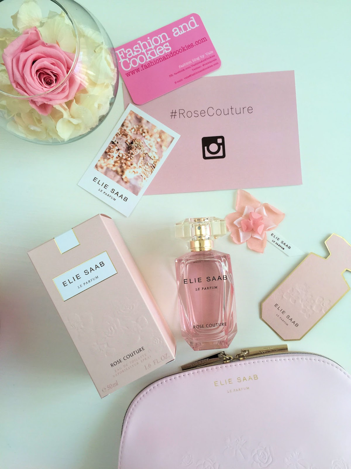 Elie Saab Rose Couture new fragrance, review and presentation on Fashion and Cookies fashion and beauty blog, beauty blogger