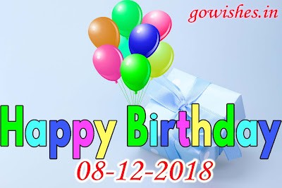 Happy Birth day wishes Image wallpaperToday 08-12-2018