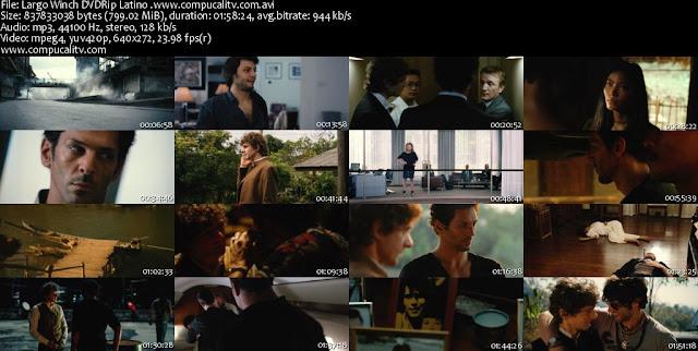 Largo Winch [Tome 2] DVDRip Español Latino Descargar 1 Link
