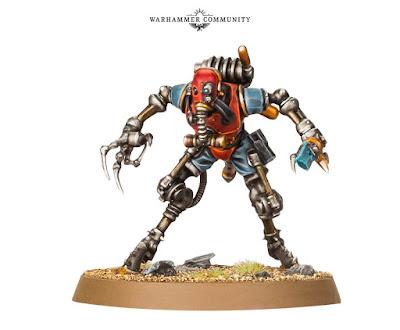 Rust Stalker kill team Theta 7-Acquisitus