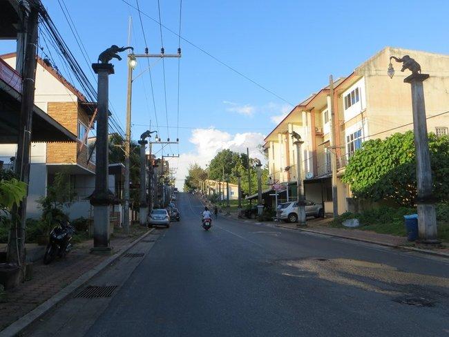 улица на краби таун