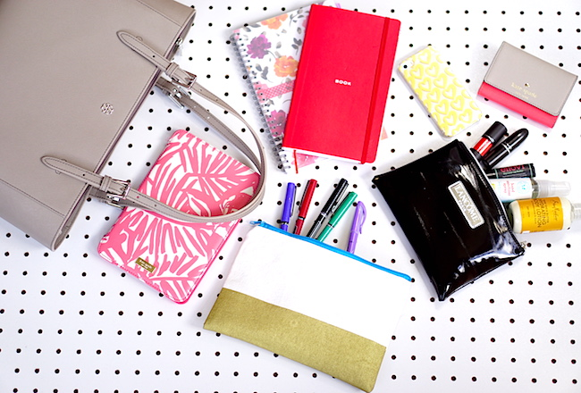 What's In My Bag, Spring 2016 Edition