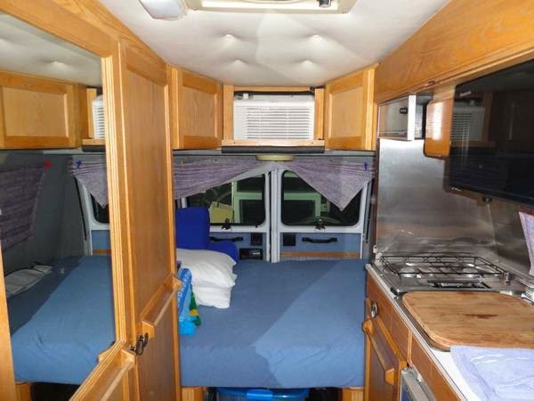 Used Rvs 1996 Roadtrek Versatile Camper Van For Sale By Owner