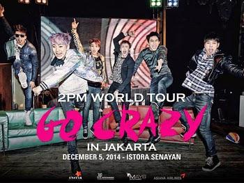 2 PM Bakal Gelar Konser di Jakarta 5 Desember!