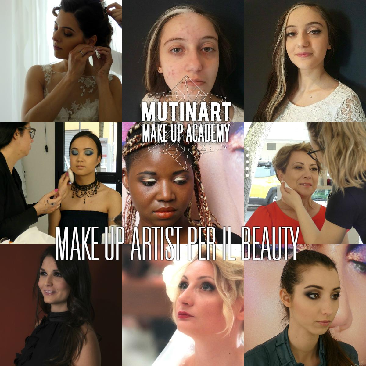 MUtinArt Make Up Academy - Corso di trucco correttivo, trucco fotografico, trucco sposa e cerimonia, trucco per la pelle etnica, trucco antiage
