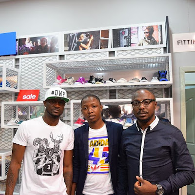 See Psquare Peter Okoye's new manager Olatunde Michaels.