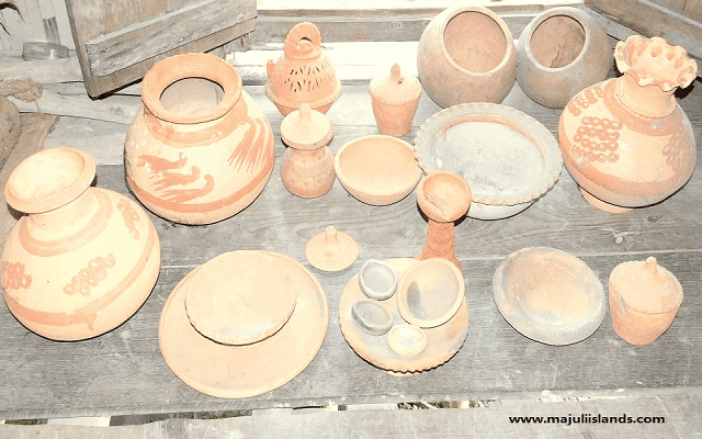 Pottery Products Of Majuli Island