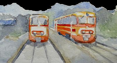 sketch, carnet de voyage