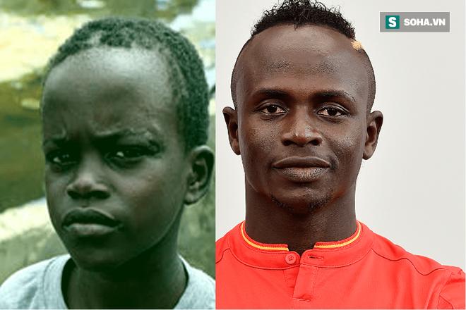 Tuổi ấu thơ của Mane gắn liền với ngôi làng Bambali (Senegal) trong gia đình nghèo đông con.