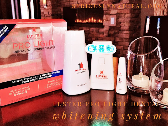 Click here to buy the  Luster Premium White Pro Light Dental Whitening System for the perfect Mother's Day gift!