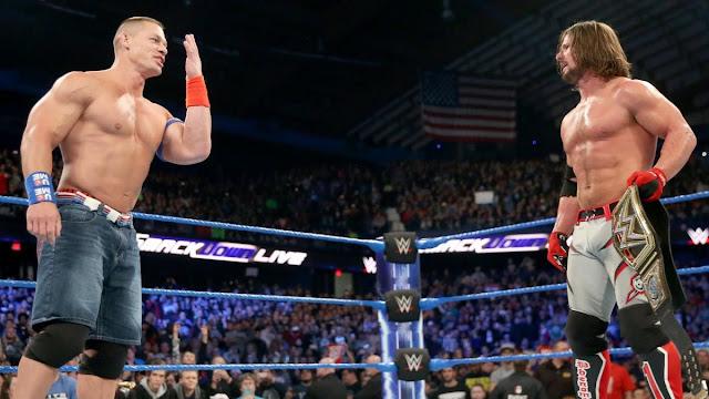 Arn Anderson diz que John Cena era contra a contratação de AJ Styles