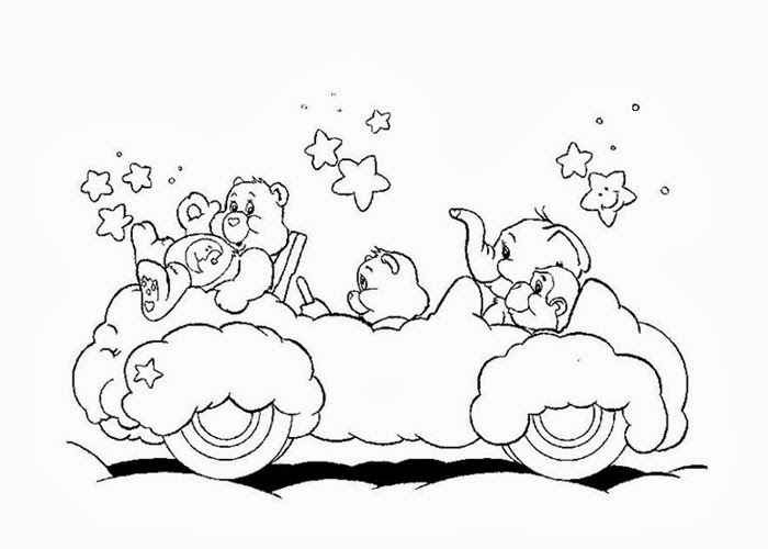 baby care bears coloring pages - photo #44