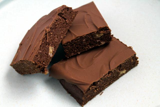 Brownie de avellanas sin azúcar (sin horno)