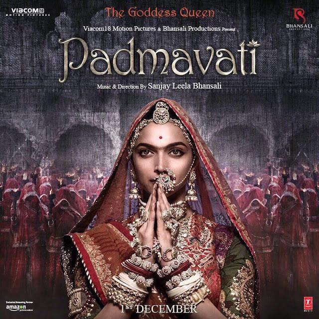 poster of deepika Padmavati movie