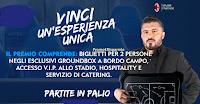 Logo Vinci gratis coppie di biglietti per il Ground box di San Siro