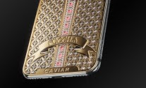 Checkout the unique iPhone X with over 300 diamond stones that costs €34 ,000