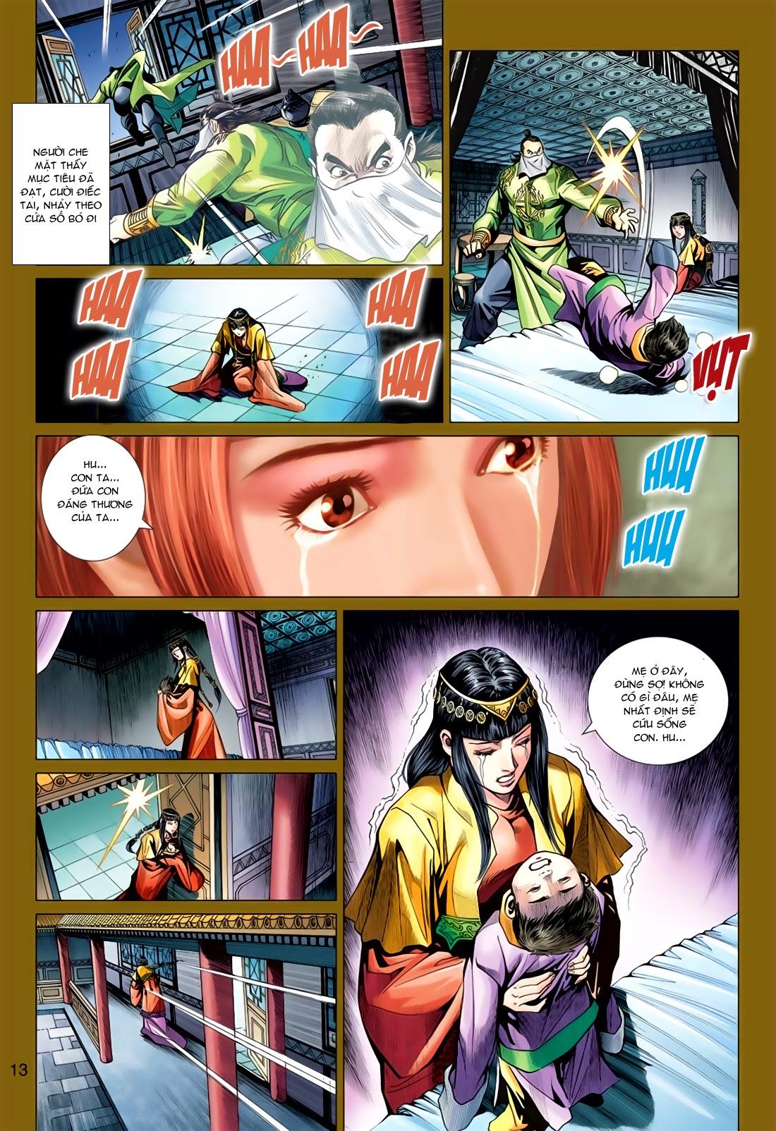 Anh Hùng Xạ Điêu anh hùng xạ đêu chap 78: sát anh trang 13