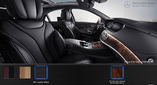 Nội thất Mercedes S450 L Star 2018 màu Nâu Nut 214