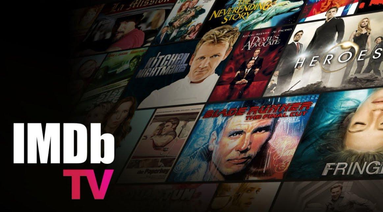 IMDb TV, canale streaming gratuito per vedere film e show online.