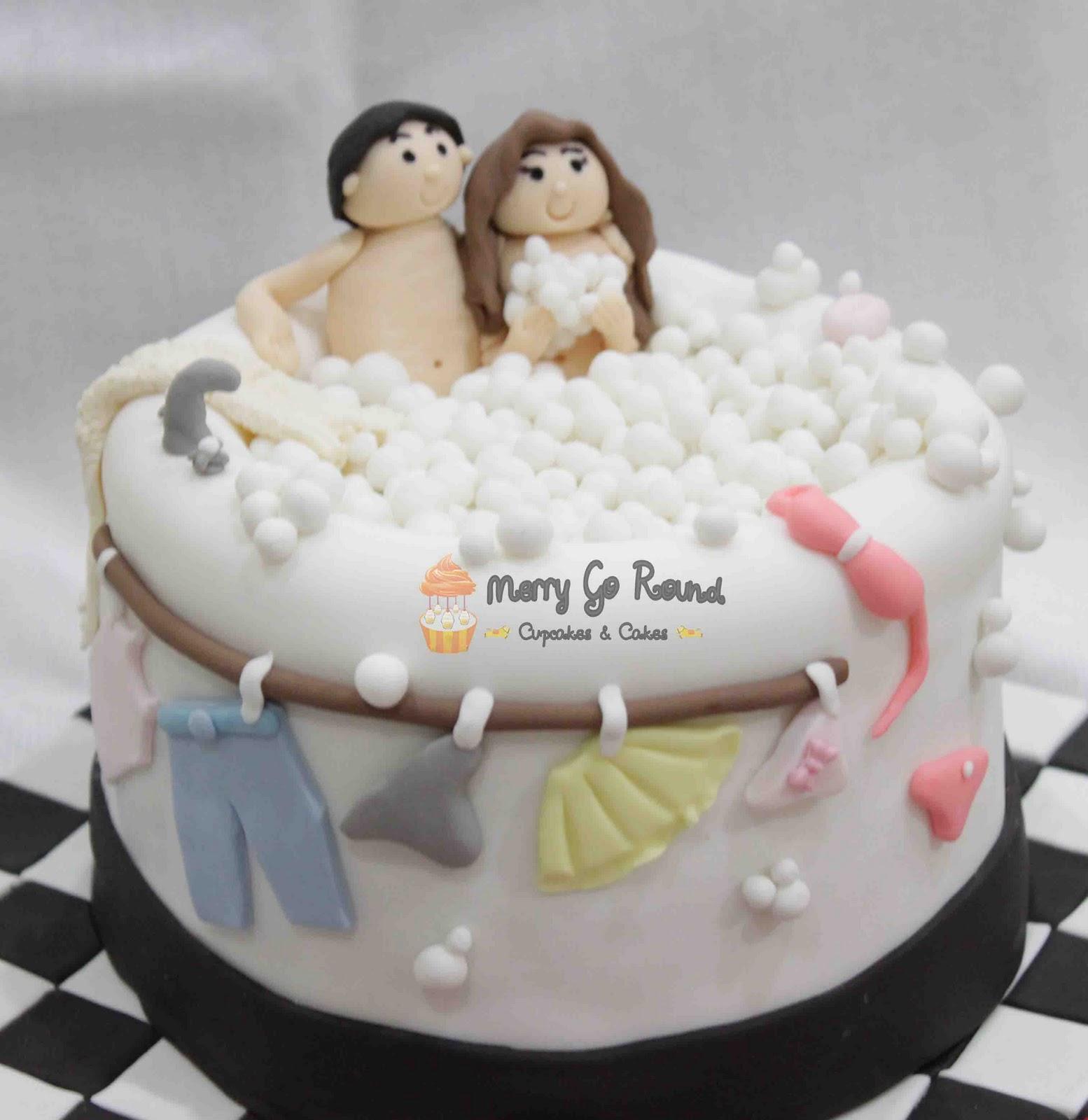 Merry Go Round  Cupcakes  Cakes Bathtub Naughty Cake