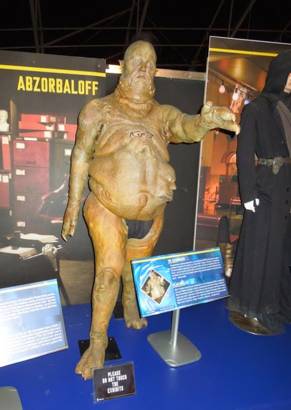 Doctor Who Abzorbaloff creature costume
