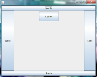 border layout java example 2