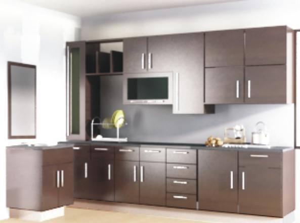 Gambar  Gambar  Desain Lemari Dapur  Minimalis  Gantung di