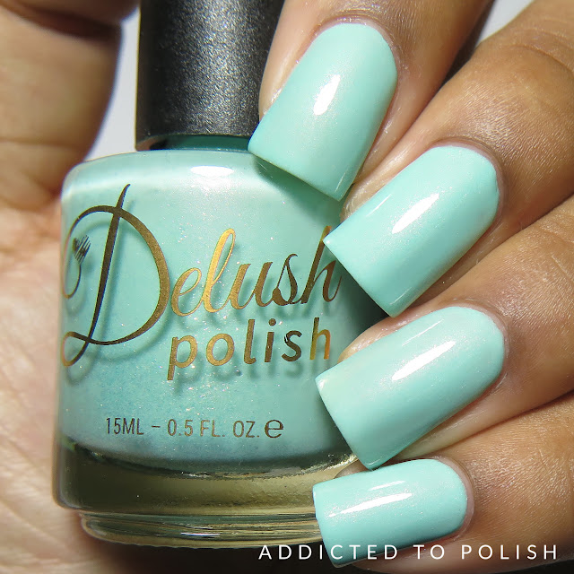 Delush Polish Hello Is It Tea You're Looking For High and Mightea spring swatches