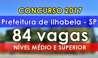 Concurso Prefeitura de Ilhabela 2017